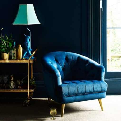Teal Florence Chair scene