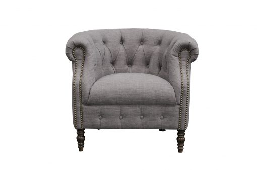 Jude Chair in flax fabric