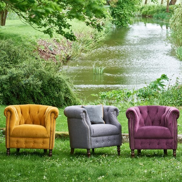 3 jude chairs in an outdoor setting