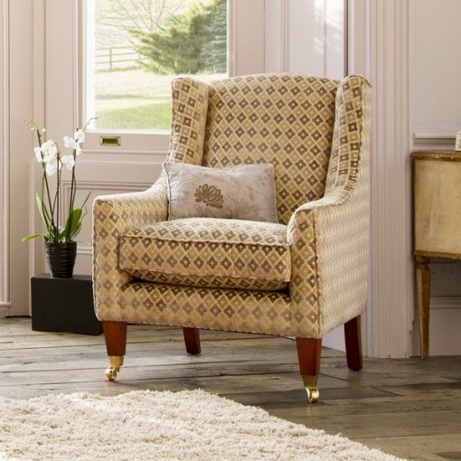 Parker Knoll Mitford chair in Balmoral fabric