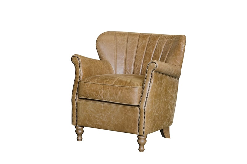 Percy leather chair