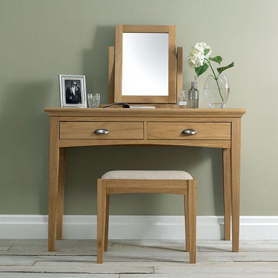 Twickenham Oak Dressing Table