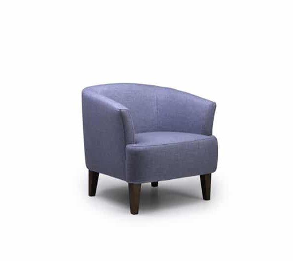 blue cyrus chair