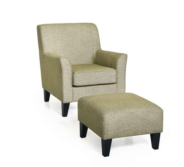 green keats chair and stool