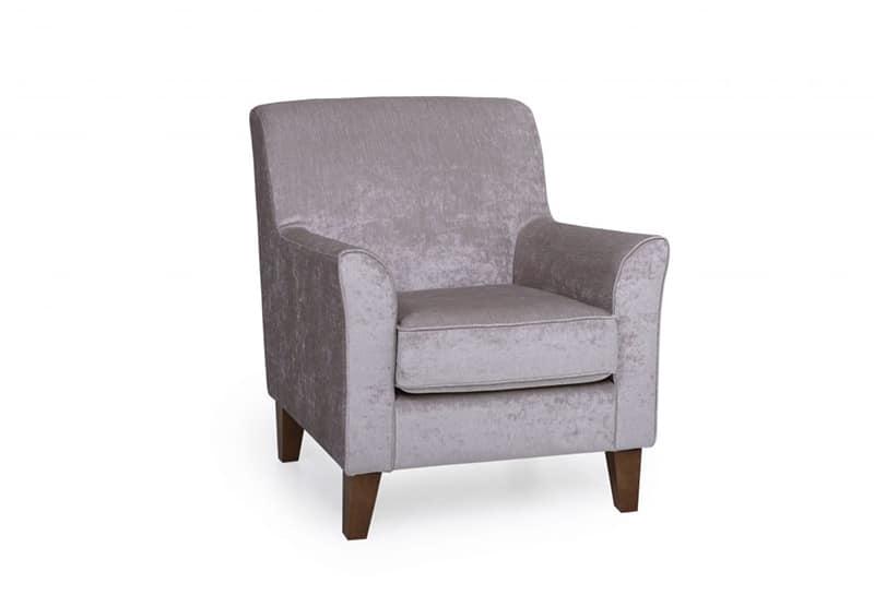 purple keats chair