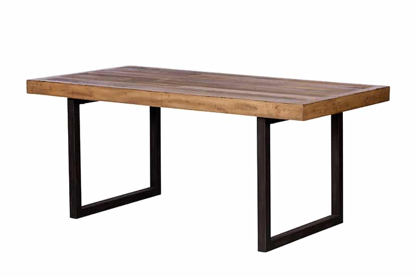 Great Western 180cm Dining Table on a white background