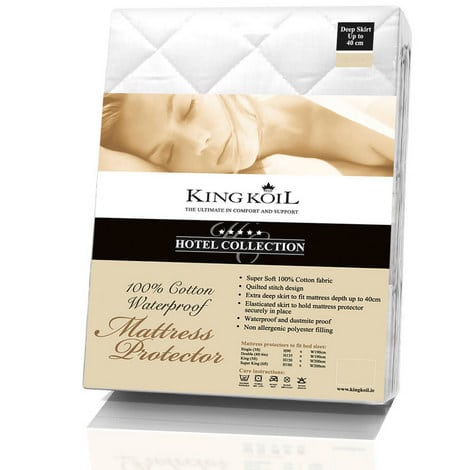 "4'6"" King Koil Mattress Protector"