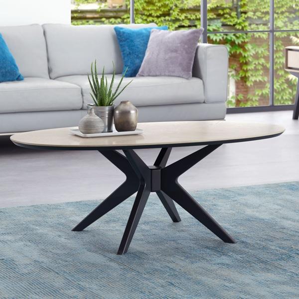 Kingdom Elliptical Coffee Table