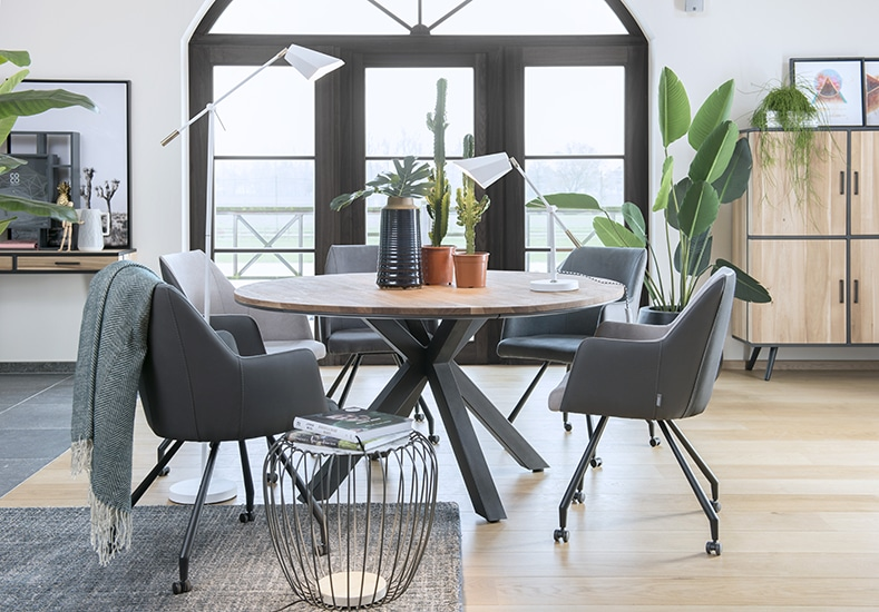 Colombo 150cm Round Dining Table Mcdermott S House Furnishers