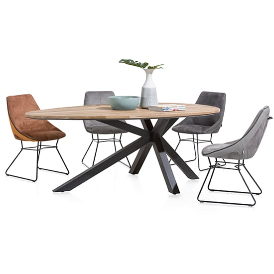 Colombo 200cm Oval Dining Table