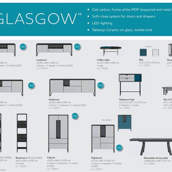 Glasgow Coffee Table