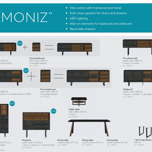 Moniz Coffee Table