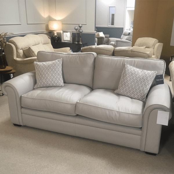 Parker Knoll Amersham Large Leather Sofa