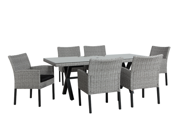 Cologne Dining Table & 6 Chairs