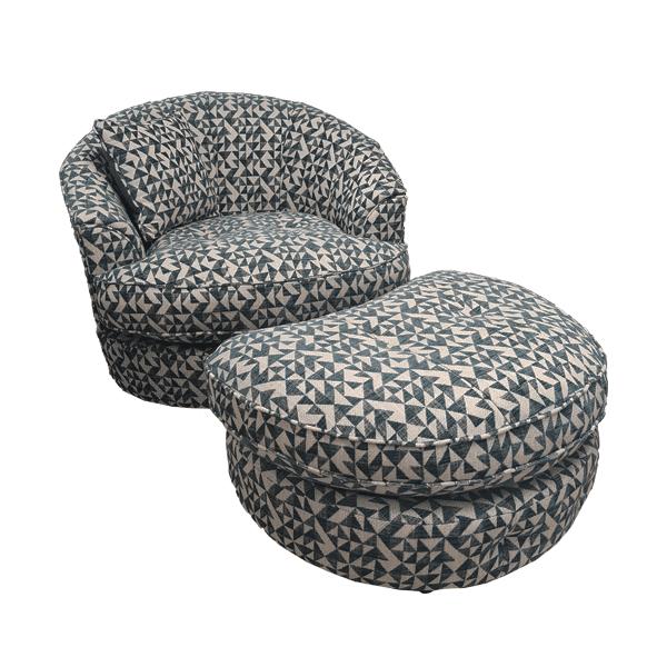 Monty Twister Chair & Stool