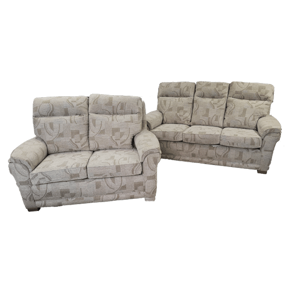 Oregon 3 Seater & 2 Seater Sofa Set