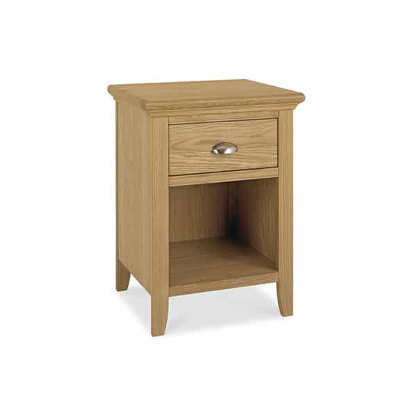 Twickenham Oak 1 Drawer Nightstand