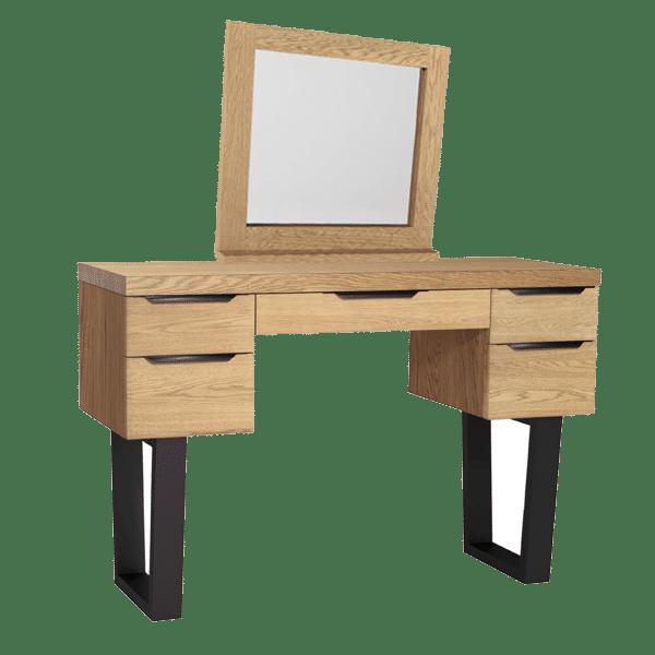 Bergen Dressing Table Mcdermott S, Oak Dressing Table With Fold Down Mirror